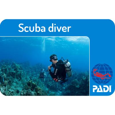 PADI-Scuba-diver-Curacao